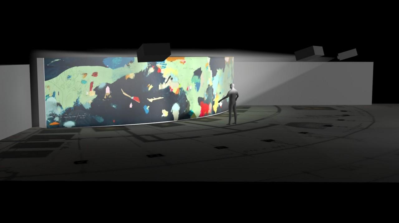 Rebecca Raue Museumsraum-Entwurf Juli 2016